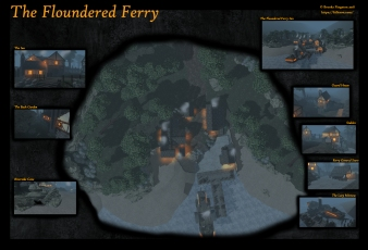 Floundered Ferry Night