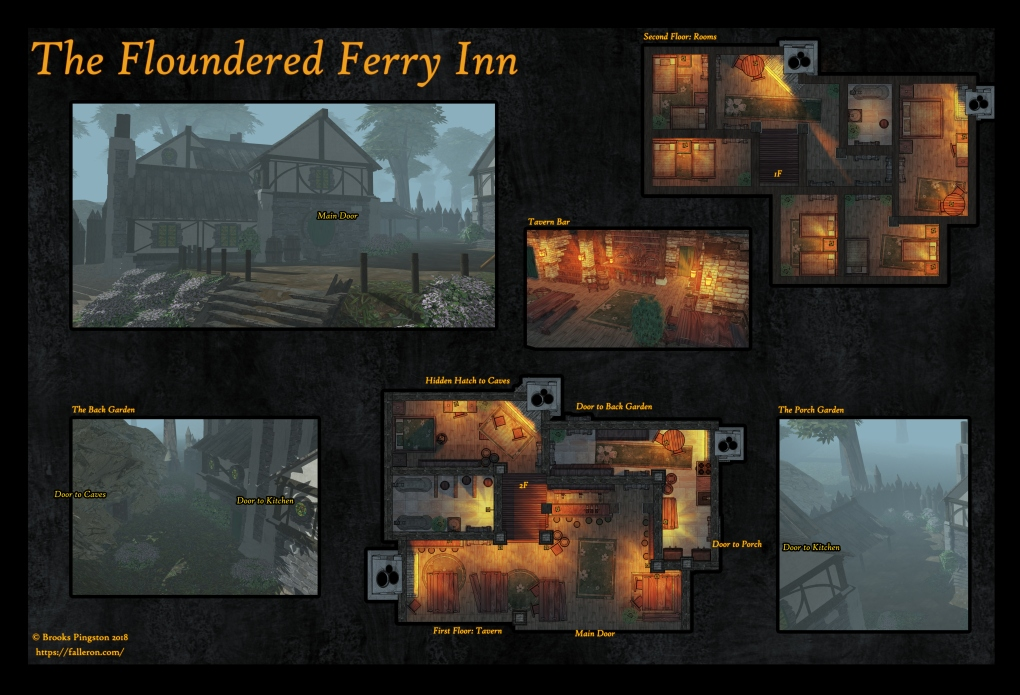 The Floundered Ferry Inn