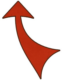 Brotherhood Curved Arrow
