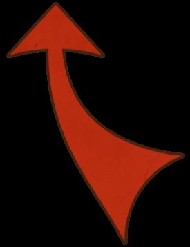 Brotherhood Curved Arrow