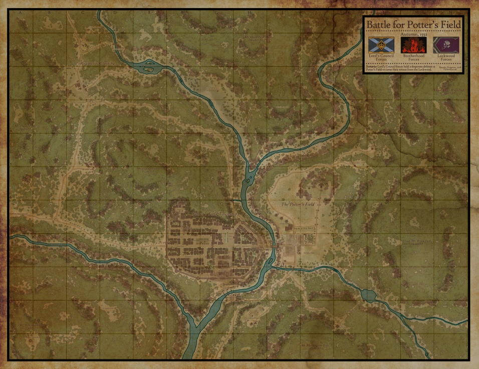 Potter's Field Area Map