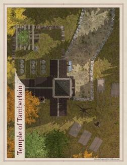 Temple of Tamberlain Exterior