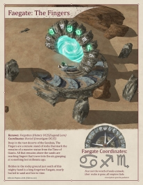 Faegate: The Fingers (Day - Activated)