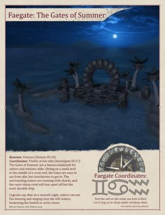 Gates of Summer: Closed Night