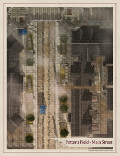 Potter's Field - Main Street Daytime