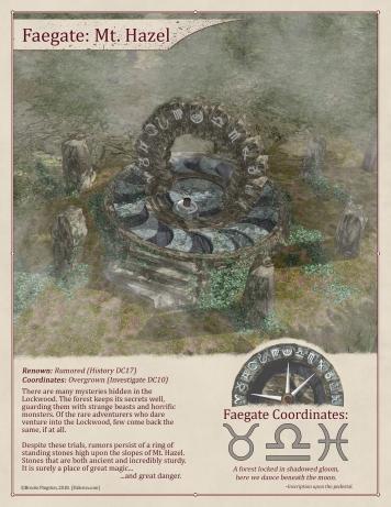 Faegate: Potter's Field (Off)