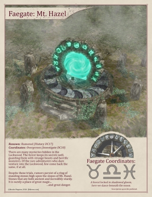 Faegate: Potter's Field (On)