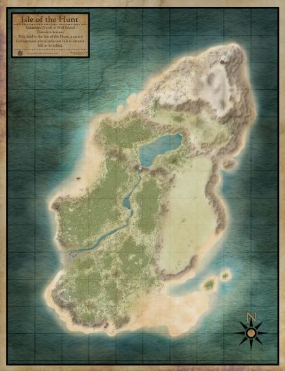 Isle of the Hunt - No Names