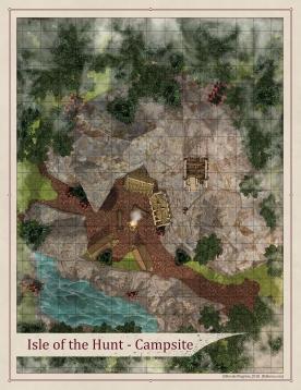Isle of the Hunt - Campsite