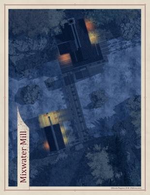 Mixwater Mill - Night