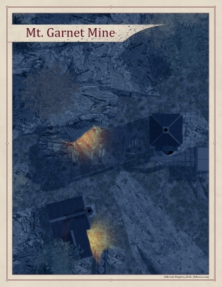 Mt. Garnet Mines Exterior - Night