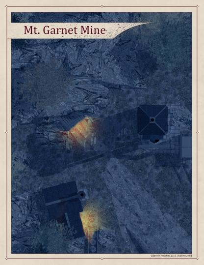 Mt. Garnet Mines Exterior - Night