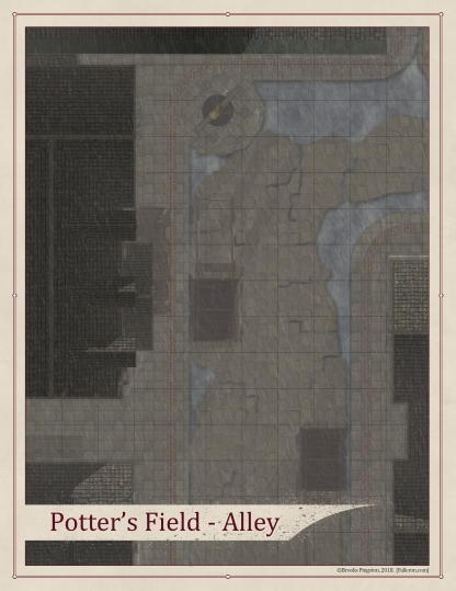 Potter's Field Day Rain Alley SQ