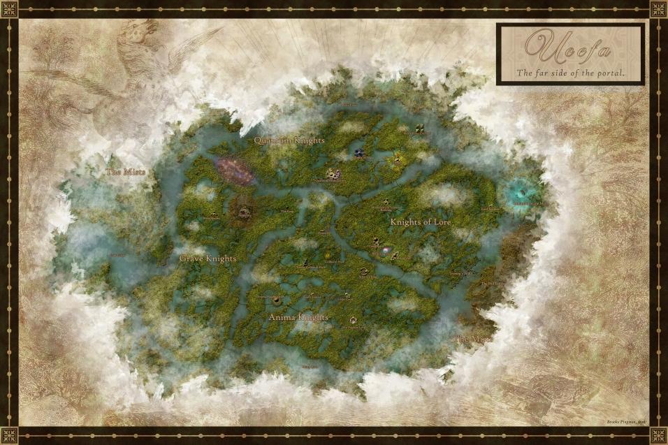 Ucefa Map